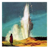 Geyser Giclee Print by  McConnell