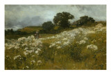 Across the Fields Giclee Print by John Mallord Bromley