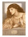 May Morris Giclee Print by Dante Gabriel Rossetti