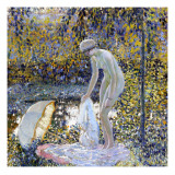 Bather, C.1907-14 Giclee Print by Frederick Carl Frieseke