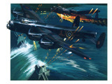 Dambusters Giclee Print by Wilf Hardy