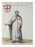 A Venetian Templar Reproduction proc&#233;d&#233; gicl&#233;e par Jan van Grevenbroeck