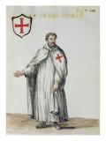 A Venetian Templar Giclée-Druck von Jan van Grevenbroeck