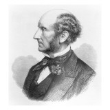 John Stuart Mill Giclee Print by  English School