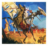Don Quixote Giclee Print by English School