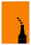 Pop Love Print by Pascal Normand