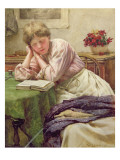 A Quiet Read Giclee Print by Walter Langley