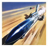 The Blue Flame Giclee Print by Wilf Hardy