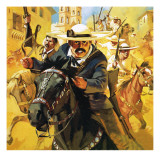 Pancho Villa Giclee Print by Mcbride 