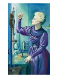 Madame Curie Premium Giclee Print by  Mcbride