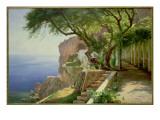 Amalfi Premium Giclee Print by Carl Frederick Aagaard
