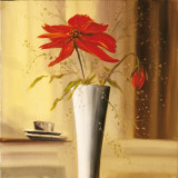 Still Life in Red II Prints by  Andretti