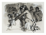 Witch Doctor Giclee Print by  Mcbride