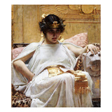 Cleopatra, C.1887 Giclee Print by John William Waterhouse