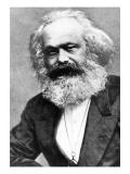 Karl Marx Giclée-tryk af  Russian Photographer
