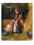 Fresh Eggs, 1874 Giclee Print by Winslow Homer