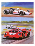 John Surtees Giclee Print by Graham Coton
