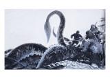 The Kraken, 1972 Premium Giclee Print by  English School