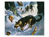 Rescue in the Snow Giclee Print by McConnell