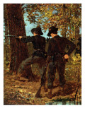 The Sharpshooters Premium Giclee Print by Winslow Homer