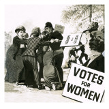 Votes for Women Giclee Print by  English School