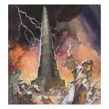 Tower of Babel Giclee Print by  McConnell
