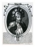 Hugues I Capet Giclee Print by Nicolas de Larmessin