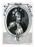 Hugues I Capet Giclee Print by Nicolas de Larmessin