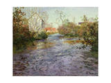 The Blue Water Giclee Print by  Thaulow