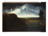 Brock's Monument Giclee Print by Thomas Cole