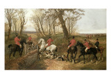 Through the Gate Giclee Print by John Frederick Herring II