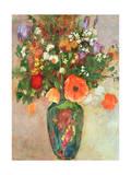 Vase De Fleurs Giclee Print by Odilon Redon