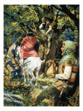Robin Hood Giclee Print by Andrew Howat