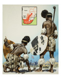 Zulus Giclee Print by  Mcbride