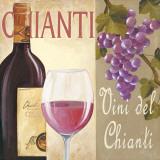 Vini del Chianti Posters by G. Piana