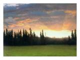 California Sunset Giclee Print by Albert Bierstadt