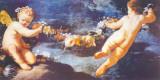 Ghirlanda di Putti Posters by Heinrich Hofmann