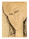 Tête de femme Reproduction procédé giclée par Amedeo Modigliani
