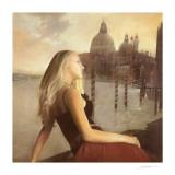 Giada in un Tramonto Veneziano Prints by Antonio Sgarbossa