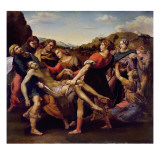 Deposition Giclee Print by Theodore Gericault