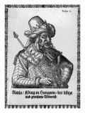 Attila the Hun Giclee Print by  German School