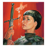 Joan of Arc Giclee Print by  McConnell
