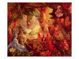 The Captive Robin Reproduction procédé giclée par John Anster Fitzgerald