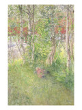 A Nap Out of Doors Giclee Print by Carl Larsson