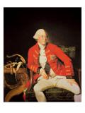 George Iii in 1771 Premium Giclee Print by Johann Zoffany