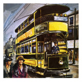 Tram Giclee Print by English School
