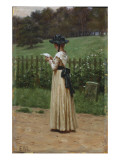 The Love Letter Giclee Print by Edmund Blair Leighton