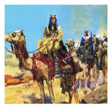 Lawrence of Arabia Giclee Print by  English School