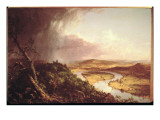 The Oxbow Giclee Print by Thomas Cole