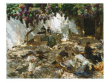 Women at Work Giclee Print by John Singer Sargent